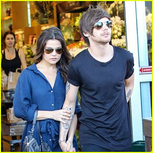 Louis Tomlinson & Danielle Campbell Enjoy Sunny Lunch Date