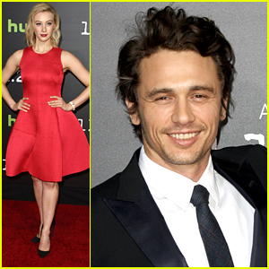 James Franco & Sarah Gadon Step Out For '11.2263' Premiere