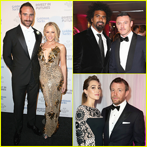 Luke Evans, Guy Ritchie & Kylie Minogue Raise Funds At Prince's Trust Invest in Futures Gala Dinner!