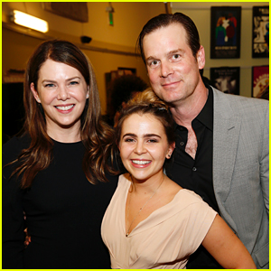Lauren Graham & Peter Krause Reunite With 'Parenthood' Co-Star Mae Whitman