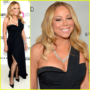 Mariah Carey Wears More Carats Than Elton John at His Party!