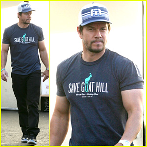 Mark Wahlberg Shows Off His Bulging Muscles While Running Errands