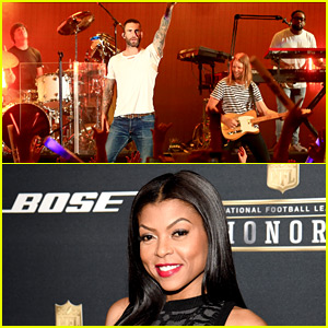 Maroon 5 Responds to Taraji P. Henson's Super Bowl 2016 Halftime Mistake!