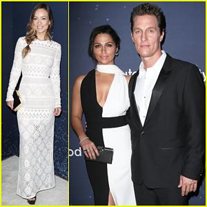 Matthew McConaughey & Wife Camila Alves Unite4:Humanity!