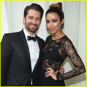 Matthew Morrison Brings Wife Renee to Oscars 2016 Party