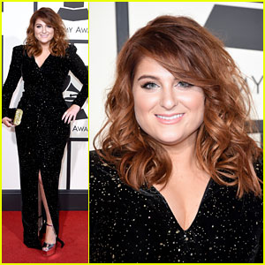 Meghan Trainor Rocks Red Locks at Grammys 2016!