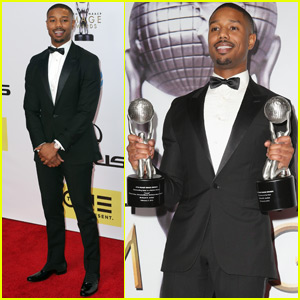 Michael B. Jordan Takes Home Entertainer of the Year at NAACP Image Awards 2016