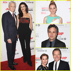 Michael Douglas Honored At Star-Studded AARP's Movie For GrownUps Awards!