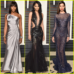 Naomi Campbell & Chanel Iman Bring the Style to Oscars 2016 Vanity Fair Party