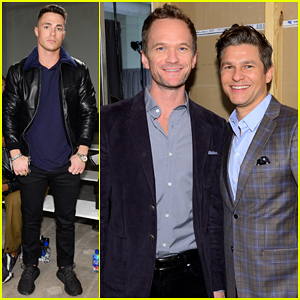 Neil Patrick Harris & David Burtka Coule Up At Ovadia & Sons New York Fashion Show!