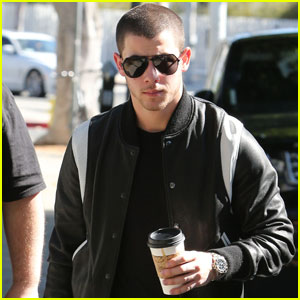 Nick Jonas Grabs Coffee After Dinner Date With Kate Hudson