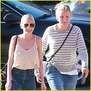 Nicole Richie & Cameron Diaz Enjoy Sisterly Spa Day