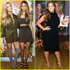 Ashley Graham & Hannah Davis Celebrate 'Sports Illustrated Swimsuit Issue' 2016 In NYC!