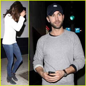 Nina Dobrev Hangs Out With Chace Crawford After Austin Stowell Split