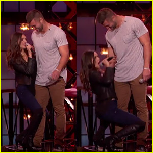 Nina Dobrev Grinds Up on Tim Tebow During 'Lip Sync Battle' Performance - Watch Now!