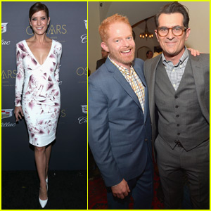 Jesse Tyler Ferguson & Ty Burrell Get Ready for the Oscars With Cadillac