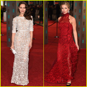 Olga Kurylenko & Annabelle Wallis Go Glam for BAFTAs 2016