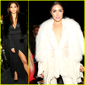 Nicole Scherzinger Rubs Shoulders with Olivia Culpo During NYFW!