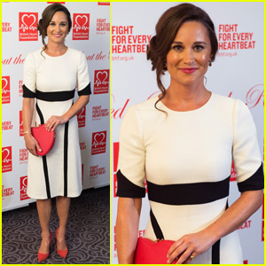 Pippa Middleton Shows Her Support for the British Heart Foundation