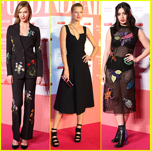 Karlie Kloss & Toni Garrn Glam Up Naked Heart Foundation's Fabulous Fund Fair