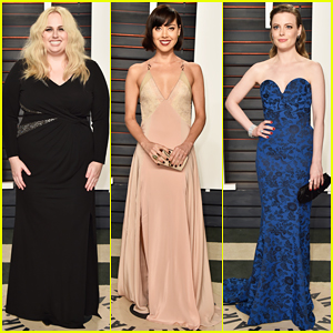 Rebel Wilson, Aubrey Plaza & Gillian Jacobs Are Funny Ladies At Vanity Fair's Oscar Party 2016!