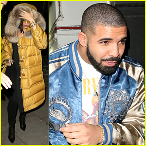 Rihanna & Drake Party Together After 'Work' Music Video Release!