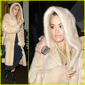 Rita Ora Celebrates Her Pal Daisy Lowe's Birthday in London