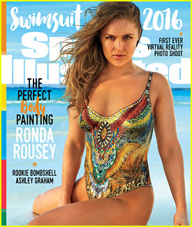 Ronda Rousey Lands One of Three 'Sports Illustrated Swimsuit Issue' Covers