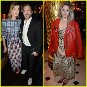 Rosamund Pike & Dianna Agron Attend Marc Jacobs Dinner