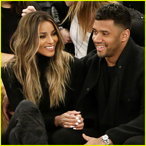 Ciara & Russell Wilson Look So in Love at the Knicks Game!