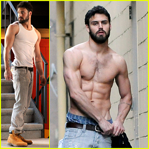 Ryan Guzman Shows Off Buff Body During Photo Shoot!