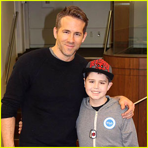 Ryan Reynolds Supports Young Deadpool Fan With Cancer