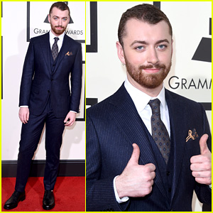 Sam Smith Shows Off Weight Loss on Grammys 2016 Red Carpet