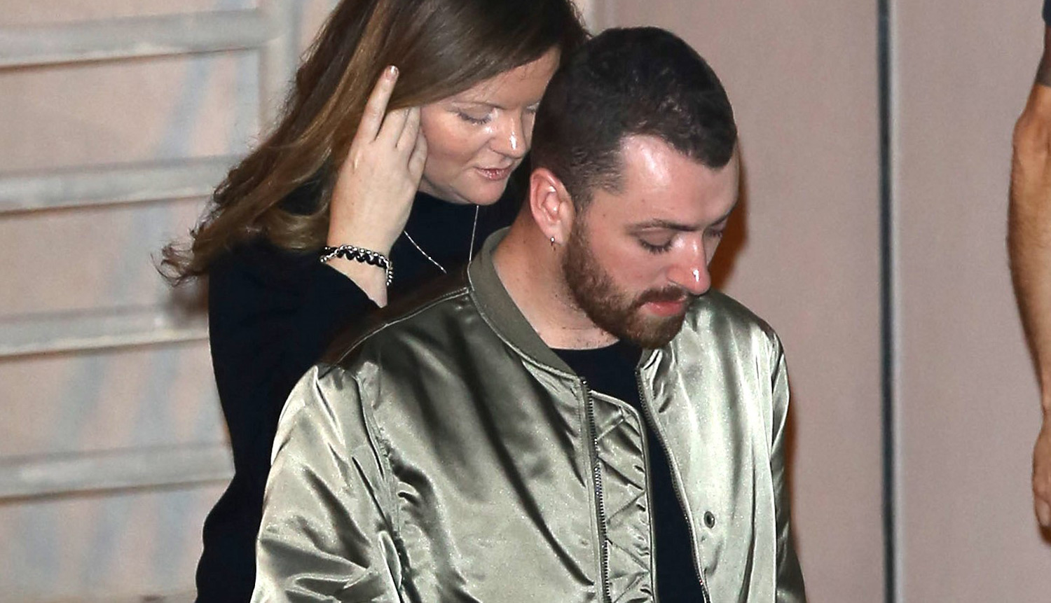 Sam Smith Steps Out Amid Concerns About Dramatic Weight Loss Just Jared