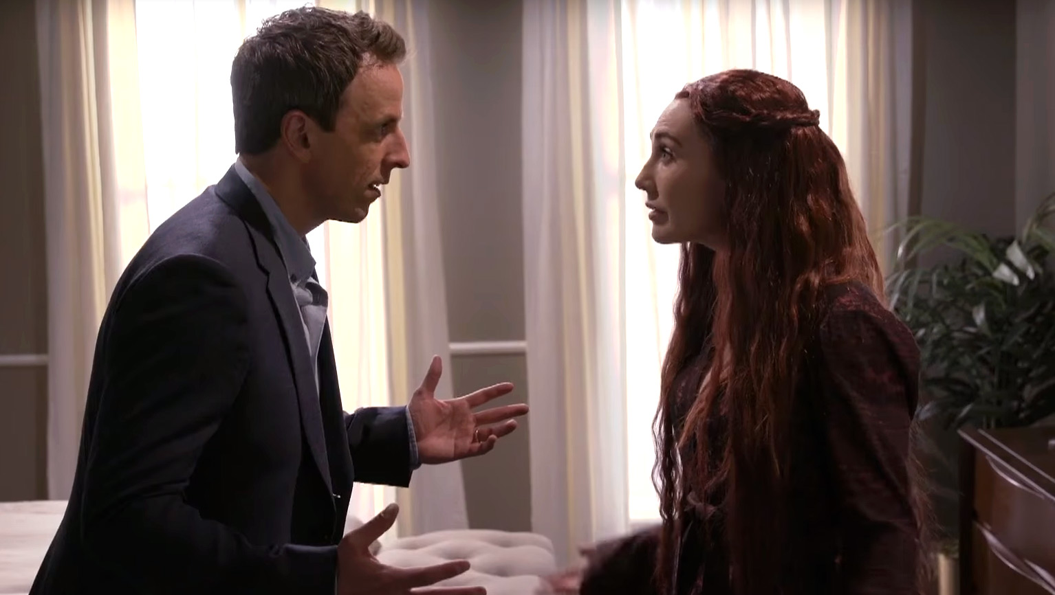 Attractive Seth Meyers Hosts Baby Shower For His Wife With U0027GOTu0027 Melisandre .