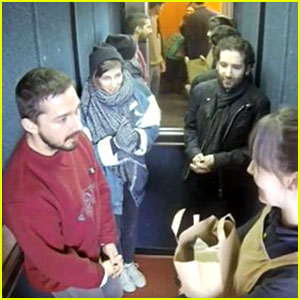 Shia LaBeouf Is Locked in an Elevator for 24 Hours - Watch the Live Stream!