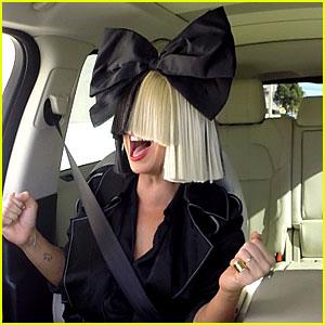 Sia Does Carpool Karaoke with James Corden - WATCH NOW!