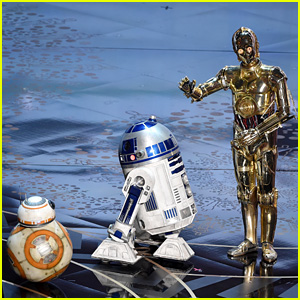 Star Wars' BB-8, R2-D2, C-3PO Take Stage at Oscars 2016 (Video)