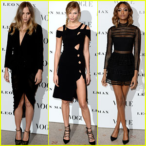 Suki Waterhouse & Karlie Kloss Launch 'Vogue 100: A Century of Style' Gallery