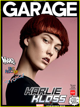 Supermodels Styled as Marvel Superheroes for 'Garage' Mag