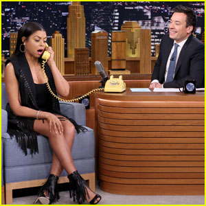 Taraji P. Henson Plays the 'Acting Game' on 'Fallon Tonight'