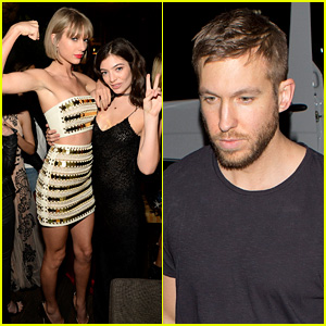 Taylor Swift's Grammys 2016 After Party Squad Includes Boyfriend Calvin Harris & Lorde!