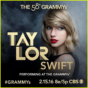 Taylor Swift to Perform at Grammys 2016!