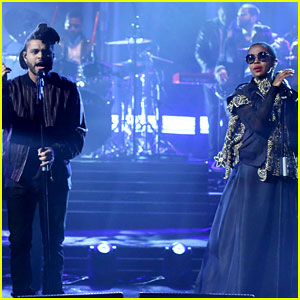The Weeknd & Lauryn Hill Perform 'In the Night' Together After Grammys Cancellation!