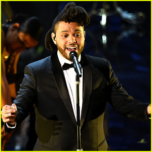 The Weeknd's Oscars 2016 Performance of 'Earned It' (Video)