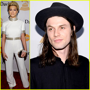 Best New Artist Nominees Tori Kelly & James Bay Hit Up Pre-Grammys Party 2016!