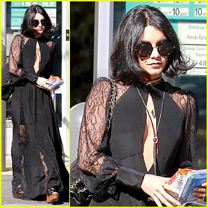 Vanessa Hudgens Shares a Photo of Her Dad's Gravesite