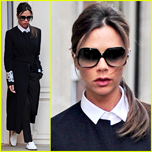 Victoria Beckham Reveals She's Given Up on High Heels