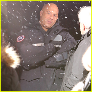Vin Diesel Braves the Snow for 'xXx' Filming - First On Set Photos!