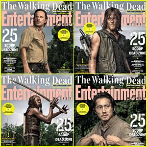 'The Walking Dead' Cast Covers 'EW,' Reveal Feelings About Season Finale